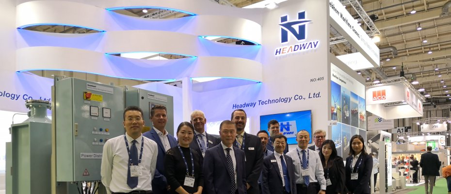 Headway Made a Stunning Appearance with Environment Protection Technology in SMM 2018