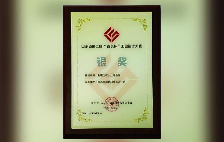 Sliver Prize of Shandong Innovation Cup