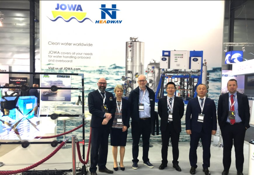 Headway Participated in the Noway Marine Exhibition