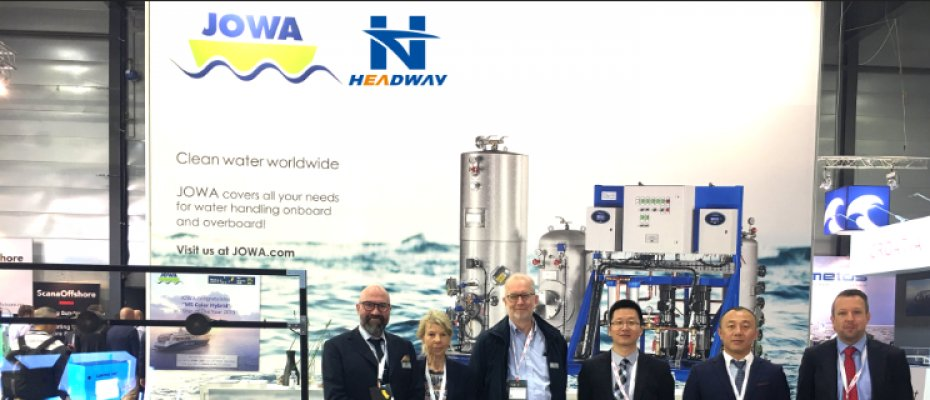 Headway Participated in the Norway Marine Exhibition