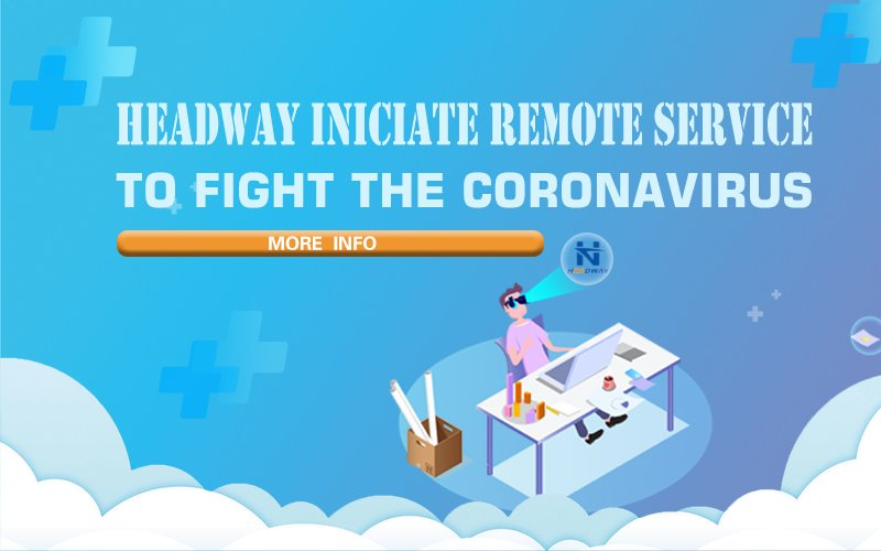 Headway Iniciate Remote Service to Fight the Coronavirus